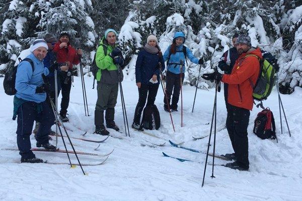 Snehové podmienky a skvelé trate priali aj bežkárom.