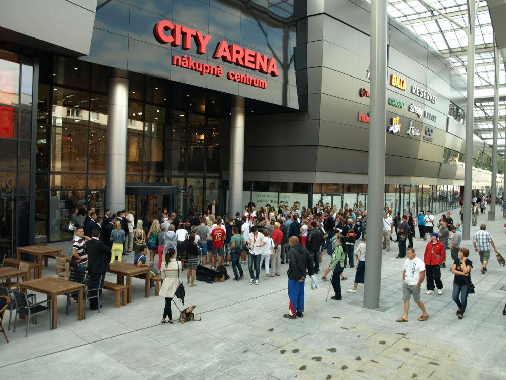City Arenu slávnostne otvorili.