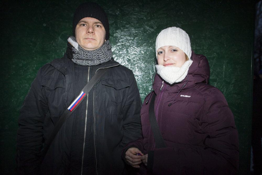 Ľuboš a Lucia Okrúhlicovci.