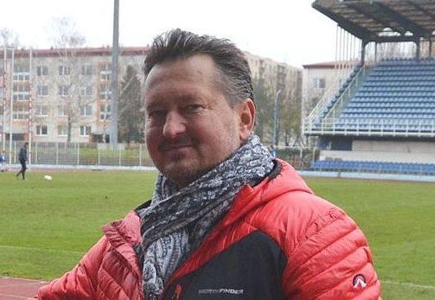 Prezident klubu Ľuboš Greguška.