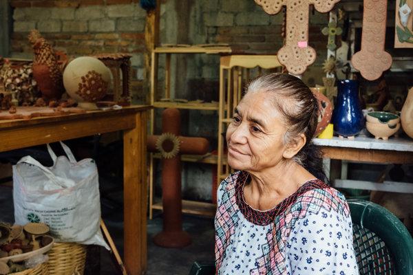 Keramikárka Manuela Villanuevová-Vásquezová