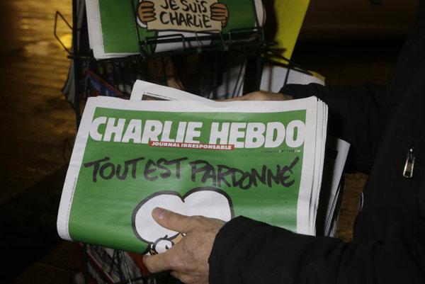 Magazín Charlie Hebdo je známy svojimi karikatúrami.