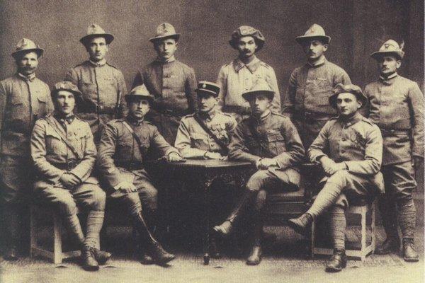 Československí legionári.