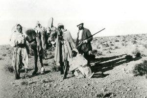 Štefánik v južnom Alžírsku, apríl – máj 1909.