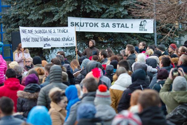 Postavme sa za slušné Slovensko, Námestovo 9. marca 2018