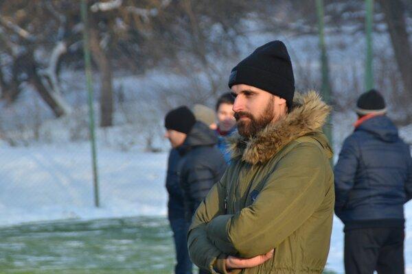 Tréner MFK Rožňava Ladislav Dávid.