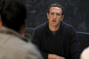 Šťastie praje pripraveným. Na snímke Mark Zuckerberg.