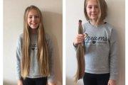 Vlasy chodia darovať aj deti.