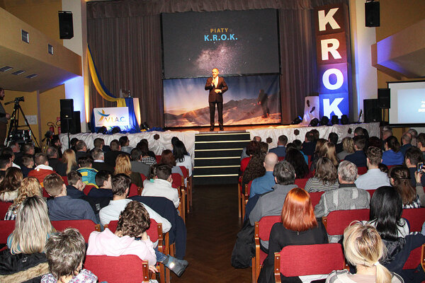 Prezident Andrej Kiska na konferencii K.R.O.K.