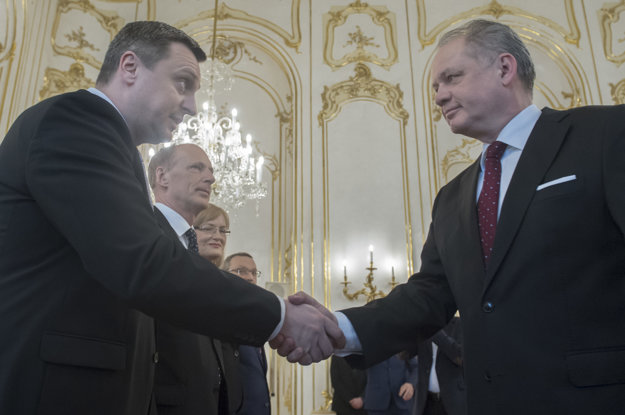 Andrej Danko a prezident Kiska.