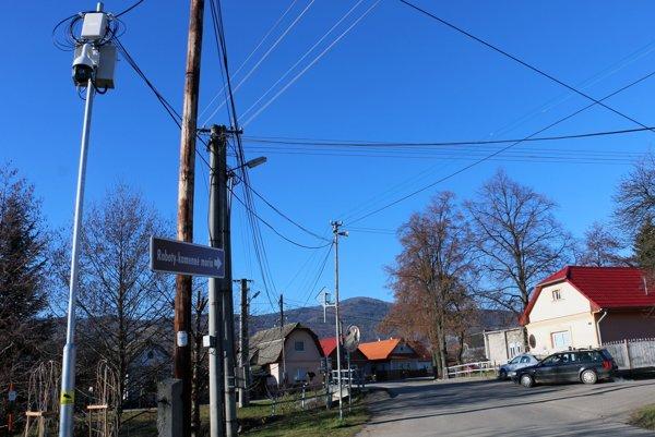 Kamery monitorujú najdôležitejšie časti obce.