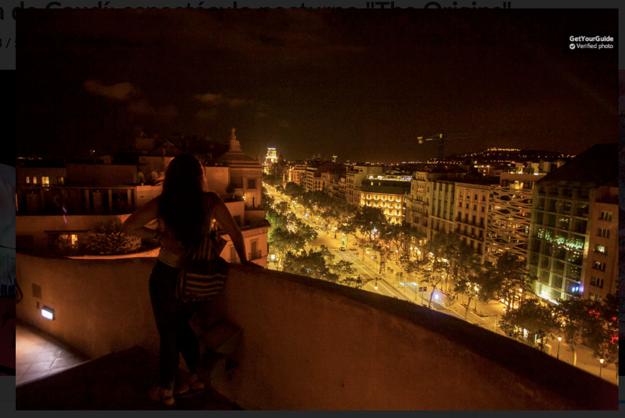 Nočná prehliadka Casa Milá