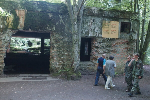 Systém bunkrov s nemeckým názvom Wolfsschanze bol jedným z Hitlerových hlavných stanov.