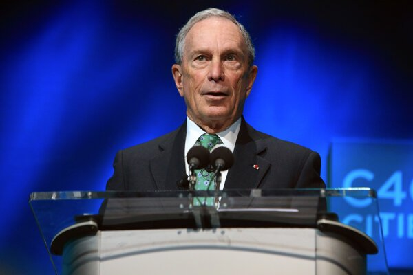 Bývalý starosta New Yorku Michael Bloomberg.
