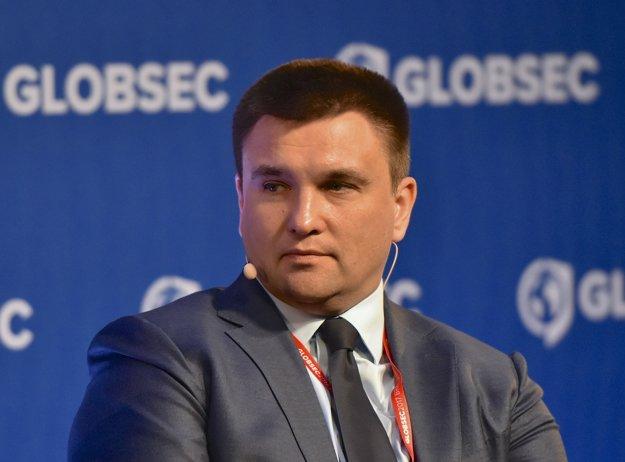 Ukrajinský minister zahraničných vecí Pavlo Klimkin.