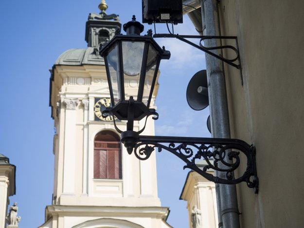 Historická Banská Štiavnica.