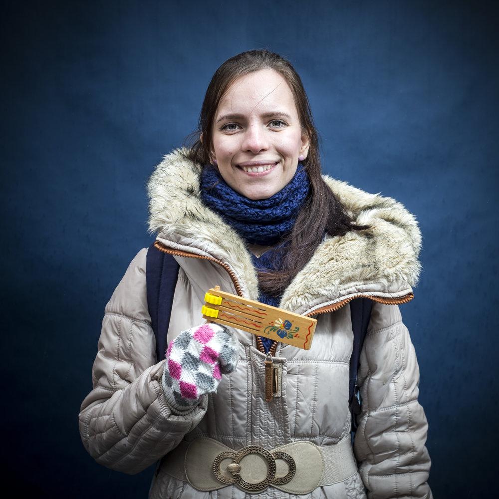 Janka pracuje štyri roky ako vychovávateľka vPezinku.