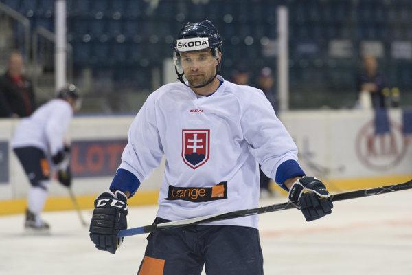 Andrej Sekera v reprezentačnom drese.