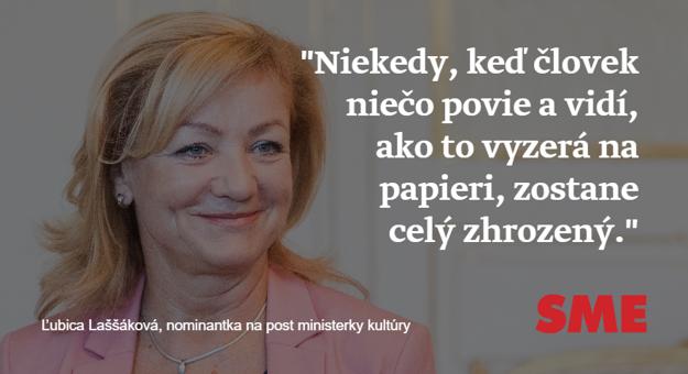 Ľubica Laššáková o svojich vyjadreniach pre denník N.