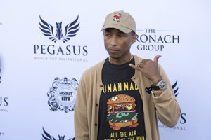 Pharrell Williams, autor hitu Happy.
