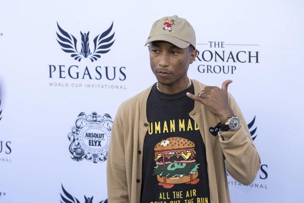Pharrell Williams, autor hitu Happy.