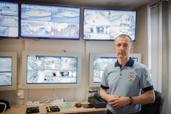 Náčelník mestskej polície v Trenčíne Ivan Liptai.