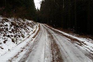 Trate v nižších nadmorských výškach sú momentálne takmer bez snehu.