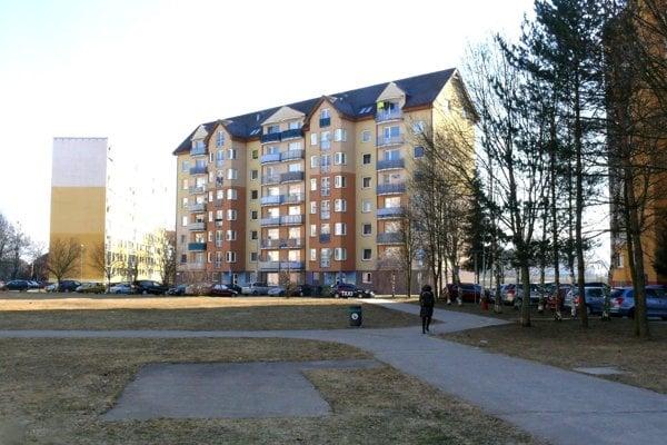 Jeden zbytových domov, ktoré spravuje mestská organizácia Matra, je aj na Ľadovni.