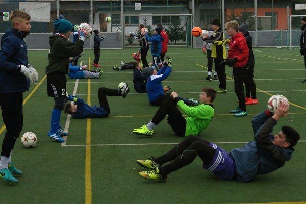 Oravská brankárska škola organizovala už piaty tréningový kemp.
