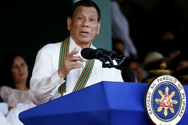 Prezident Rodrigo Duterte.