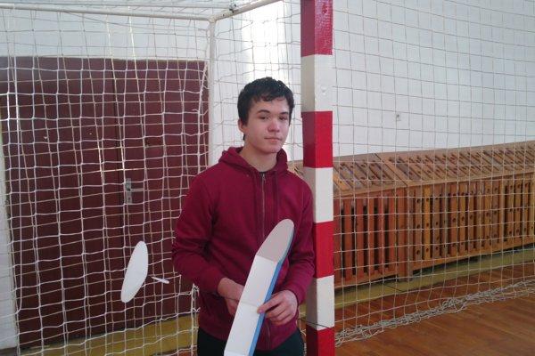 Prešovčan Cyril Potocký z kategórie juniorov.