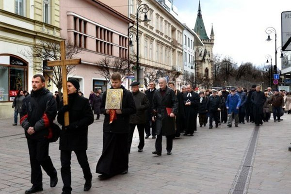 Ekumenické spoločenstvo cirkví na území mesta Košice pozýva na tradičný veľkopiatkový Ekumenický pašiový sprievod.