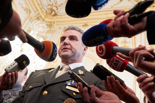 Prezident Policajného zboru SR Tibor Gašpar.