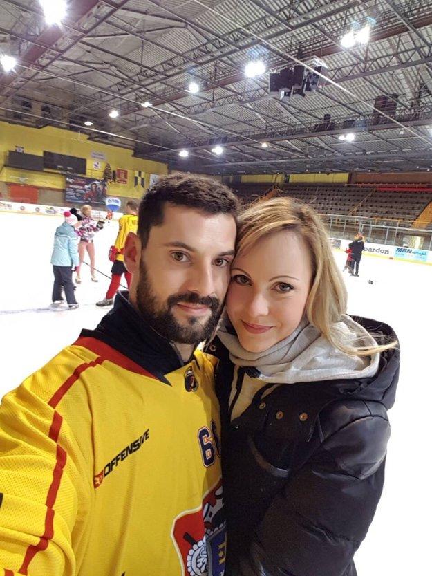 Miloš Bystričan s priateľkou Miriam.