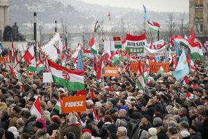 Fidesz je najpopulárnejšou maďarskou stranou.