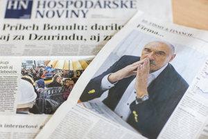 Fotografia Miroslava Bödöra je len v rozhovore pre Hospodárske noviny. Majetkové práva na ňu nemajú.