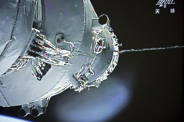 Modul čínskej vesmírnej stanice Tchien-kung 1.