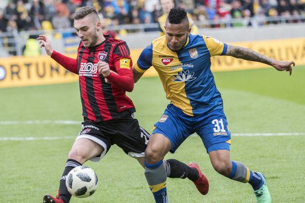 Spartak prvýkrát v sezóne s Dunajskou Stredou prehral.