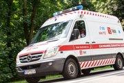 Záchranná zdravotná služba Falck.