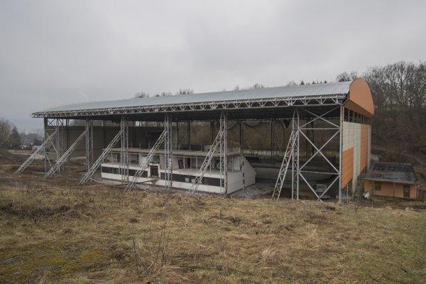 Zimný štadión pred rekonštrukciou.