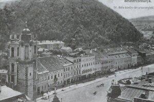 Námestie v roku 1904