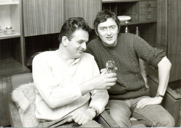 Jozef Babiak s kamarátom