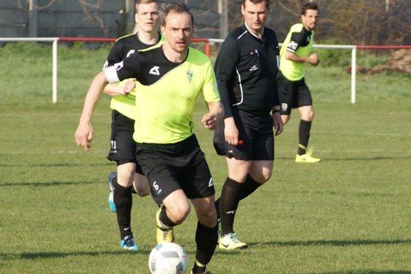 Dalibor Bajzík sa presadil dvakrát gólovo.