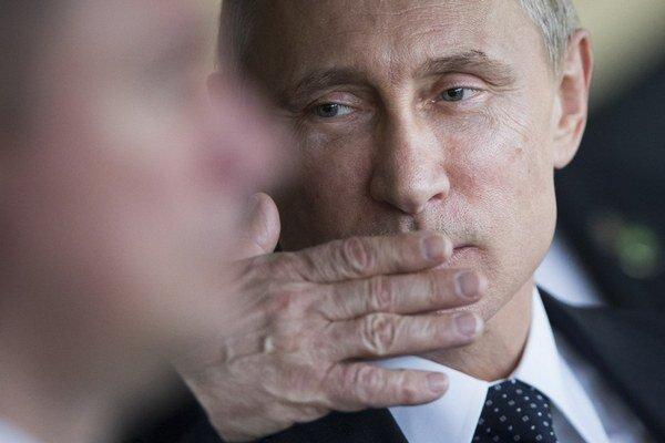 Ruský prezident Putin na summite lídrov krajín BRICS.