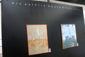 Aktuálna výstava v Art galérii mesta Prievidza - Peter Šoltó: Stromy.