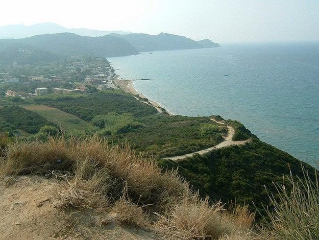 Pláž Arillas.