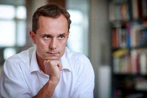 Radoslav Procházka počas rozhovoru pre denník SME.