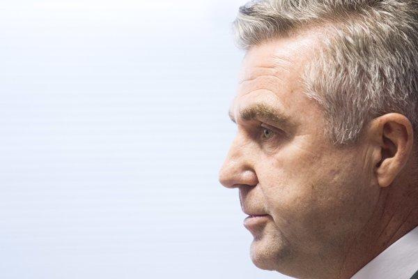 Policajný exprezident Tibor Gašpar.