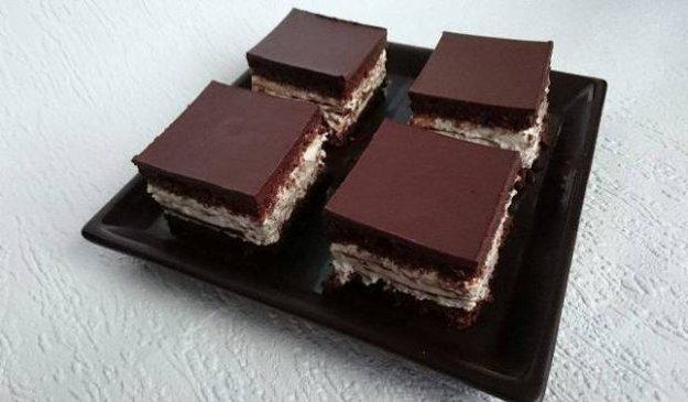 Smotanovo-čokoládová maškrta
