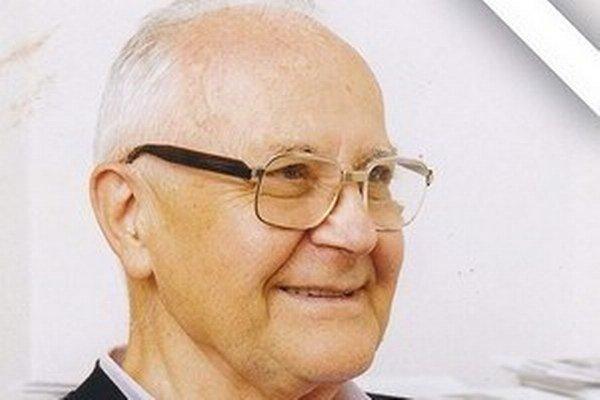 Silvester Krčméry zomrel v utorok vo veku 89 rokov.